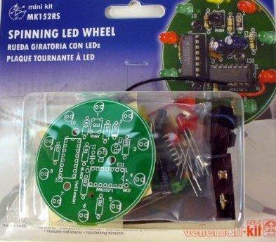 Spinning LED Wheel KIT- MK152RS