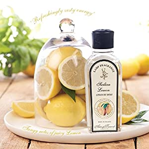 Sicilian Lemon Lamp Fragrance 500ml from Scented Candle Shop