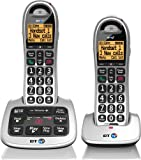 BT 4500 Cordless Big Button Phone with Answer Machine and Nuisance Call Blocker (Pack of 2)