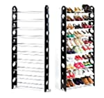 Gotobuy - 10 Tier Canvas Cover Shelf...