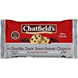 Chatfield's Double Dark Semi Sweet Chips, 10 Ounce
