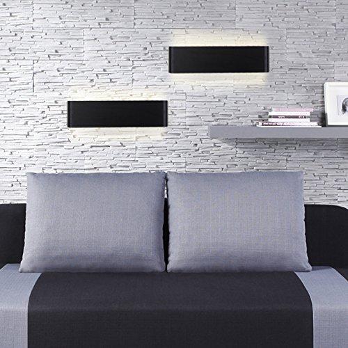 6w 660 lumen moderne minimalistische aluminium led warmwei wandleuchte badezimmer spiegel. Black Bedroom Furniture Sets. Home Design Ideas