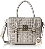 #2: Ladida Ladida Collection Women's Satchel (Silver) (2017-21 SILVER)