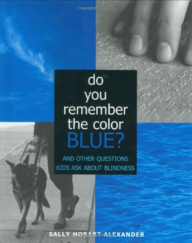 Do You Remember the Color Blue?: The Questions Children Ask About Blindness