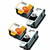 2 Compatible Sets of Black & Colour Printer Ink Cartridges to replace Kodak 10 (4 Inks) for Kodak EasyShare 5000, 5100, 5200, 5300, 5500 & ESP 3, 5, 7, 9, 3250, 5210, 5250, 7250, 9250, Office 6150 & Hero 6.1, 7.1, 9.1 (Contains: 2x 10B & 10C)**by Printer