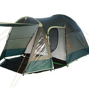 iglu zelt iglu zelt kuppelzelt mit vorbau 3 4 personen khaki dunkel gr n. Black Bedroom Furniture Sets. Home Design Ideas