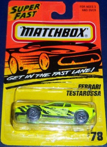 Matchbox #78 Ferrari Testarossa