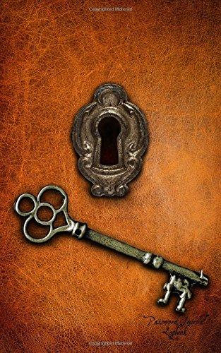 Password Journal Logbook: Lock & Key, Non-alphabetic 5