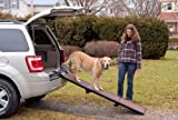 Pet Gear Travel-Lite Tri-Fold Pet Ramp for cats and dogs up to 200-pounds, Pet Ramp, Chocolate/Black