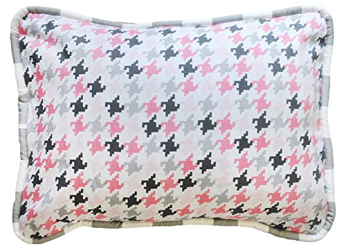 New Arrivals Paper Moon Accent Pillow, Pink/gray