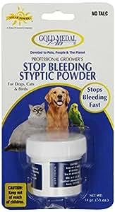 Gold Medal Pets Stop Bleeding Styptic Powder, .5 oz.
