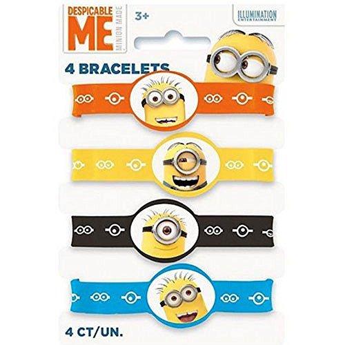 Despicable Me 2 Rubber Bracelets (4ct)