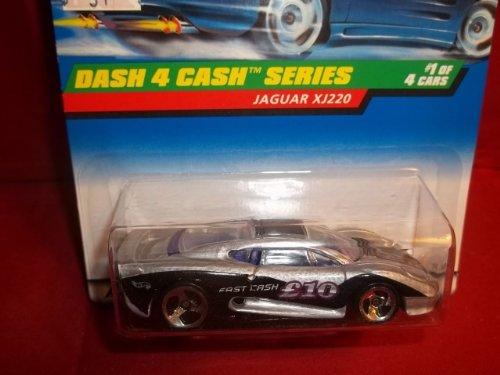 Hot Wheels Dash 4 Cash JAGUAR XJ220 1 of 4 3-spoke Wheels Limited Special #721