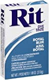 Rit Powder Dye Royal Blue  1.125 Ounces