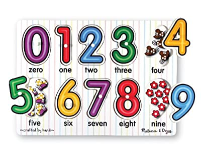 Melissa & Doug See-Inside Numbers Peg by Melissa and Doug