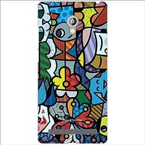Design Worlds - Asus Zenfone 6 A601CG Designer Back Cover Case - Multicolor...