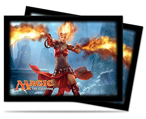Card Sleeves: 2014 Core Set: Chandra Horizontal - 1