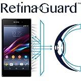 RetinaGuard Sony  Xperia  Z1(SO-01F/SOL23) ブルーライト90%カット保護フィルム
