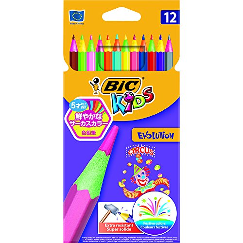 bic-kids-evolution-colouring-pencils-pack-of-12