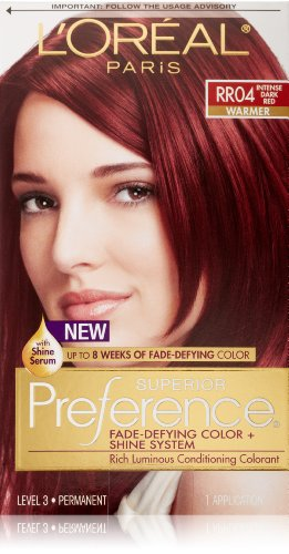 Preference Intense Dark Red front-513046