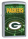 NFL Green Bay Packers Street Chrome Windproof Lighter
