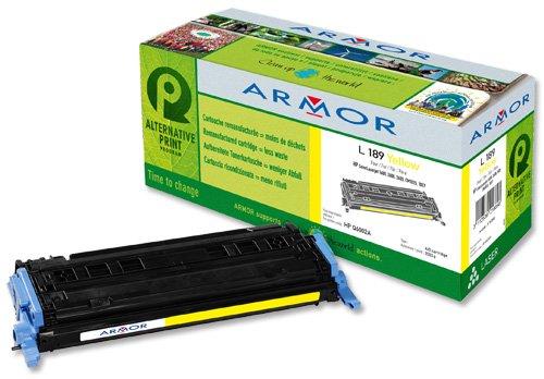 Armor - Cartouche de toner ( remplace HP Q6002A ) - 1 x jaune