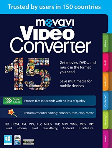 Movavi Video Converter 15 Personal Edition [Download] (Image Converter Software compare prices)