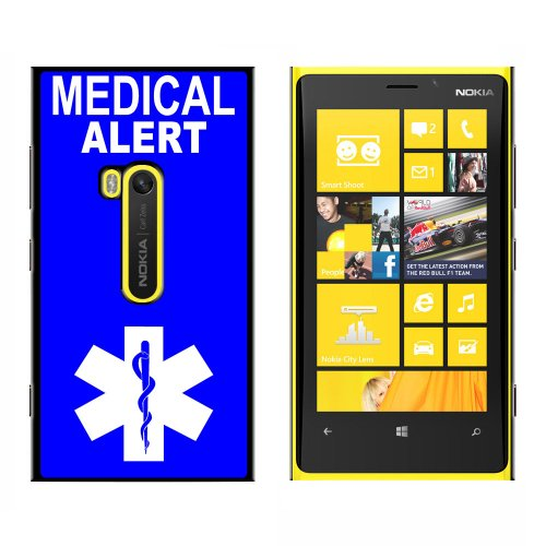 Medical Alert - Emergency - Star Of Life - Snap On Hard Protective Case For Nokia Lumia 920
