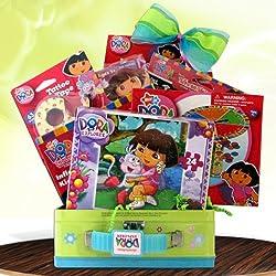 Dora the Explorer Fun Pack Ideal for Birthday Gift Baskets for Girls Under 10