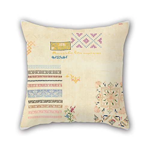 Loveloveu Pillowcover Of Oil Painting Maria De La Luz Garcia - Sampler 20 X 20 Inches / 50 By 50