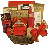 Delight Expressions&trade; Savory Snack Gourmet Food Gift Basket - A Christmas Gift Basket Idea!