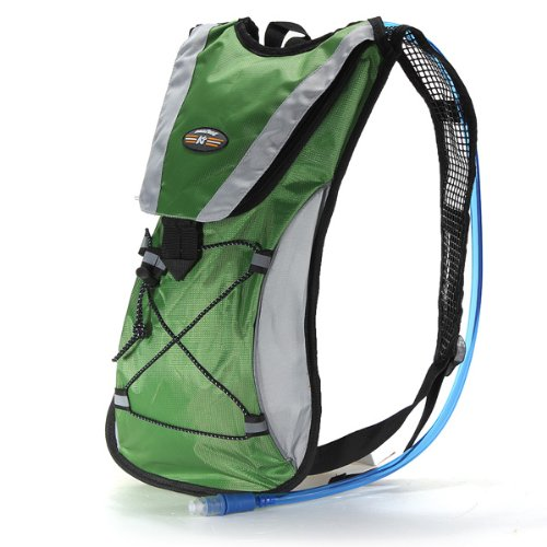 Hydration Pack Water Rucksack Backpack Bladder Bag Cycling Bicycle Bike/Hiking Climbing Pouch + 2L Hydration Bladder (Water Pack compare prices)