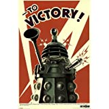 Doctor Who Dalek To Victory 24x36 Poster TV