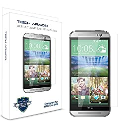 Tech Armor Retina Shield - Blue light Blocking Screen Protector for HTC One M8
