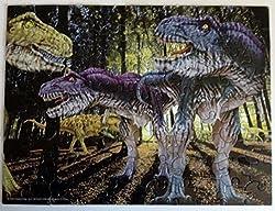 Dino Glow Tyrannosaurus Rex 100 Piece Glow in the Dark Puzzle
