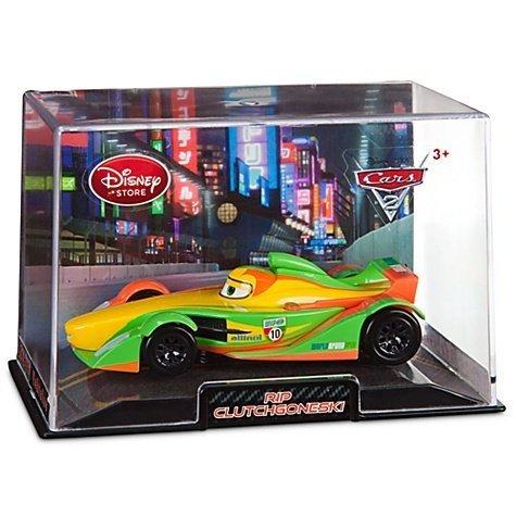 Disney / Pixar CARS 2 Movie Exclusive 1:48 Die Cast Car In Plastic Case Rip Clutchgoneski [Chase Tunnel Background] - 1