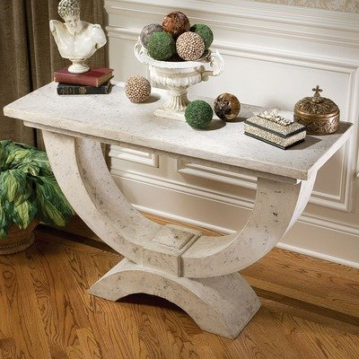 Cheap The Moderno Arch of Stone Console Table (NE70603)