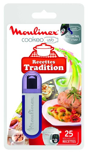 Moulinex XA600211 Clé USB Cookeo - 25 Recettes Tradition