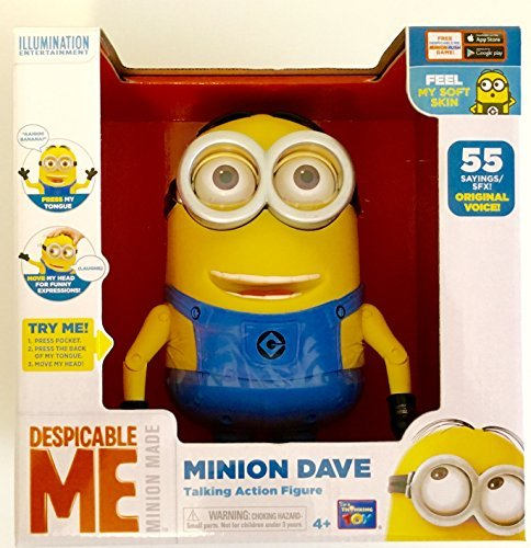 Kaito glue minion Boss 8 inches Deluxe Talking figure minion Dave (New package ver.) / DESPICABLE ME 2015 Talking Figure MINION DAVE [parallel import goods] Minion