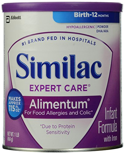 Similac Expert Care Alimentum Infant Formula with Iron, Powder, 1 Pound - 1