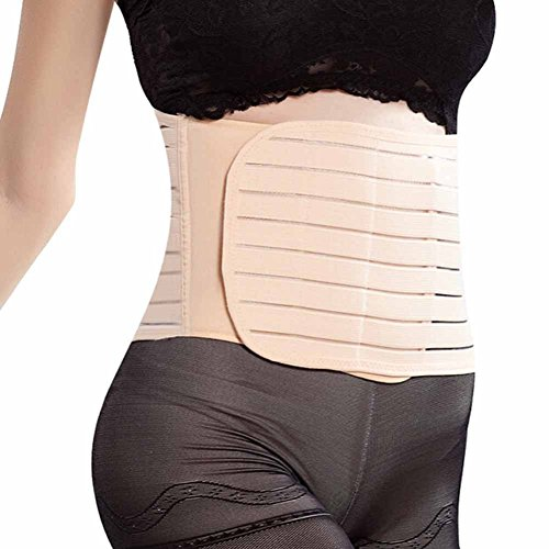 4052d9704a EUBUY Adjustable Postpartum Belly Wrap Recovery Girdle post pregnancy  support belt Tummy Trimmer Postnatal Belly Band