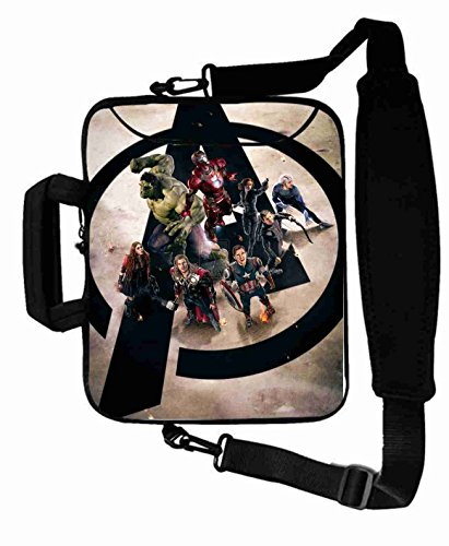 "Protection Customized Series the avengers movie Shoulder Bag For Lady (10 Inch) For 9.7""iPad Air 2-iPad 1 2 3 4 5-Samsung Galaxy Tab 3 S T700-Note 10.1-Tab PRO-Google Nexus 10 - CB-10-5664"