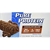 Pure Protein Chocolate Deluxe Value Pack,6 Count 50 Gram Bars