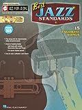 Best Jazz Standards: Jazz Play-Along Volume 169 (Hal Leonard Jazz Play-Along)