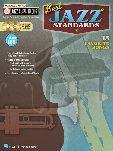 Best Jazz Standards: Jazz Play-Along Volume 169