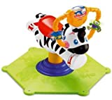 Bounce & Spin Zebra Toy