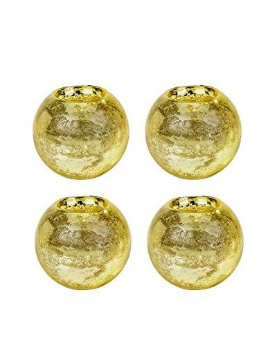 Tinsley Mortimer Set of 4 Large Bubble Votives