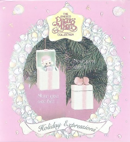 Precious Moments Little Girl Pop-up Christmas Ornament 1993 - 1