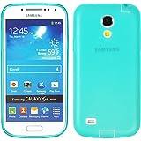 PhoneNatic Samsung Galaxy S4 Mini Hülle Silikon grün Dustproof Tasche Galaxy S4 Mini Case + Schutzfolien