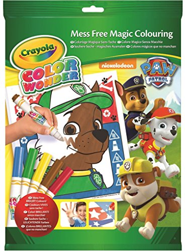 Paw Patrol - Color Wonder Kit, libro de colorear (Crayola 75-2298)